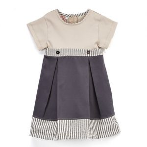 Grey Stripe Dress