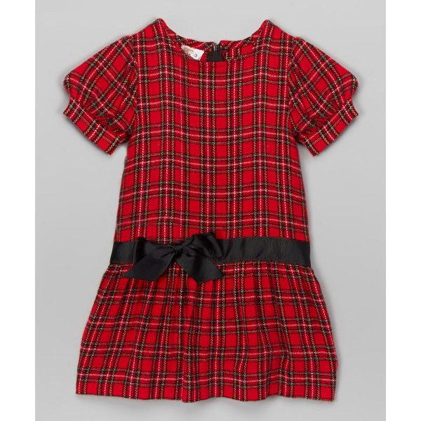 Holiday Dress - Drop Waist