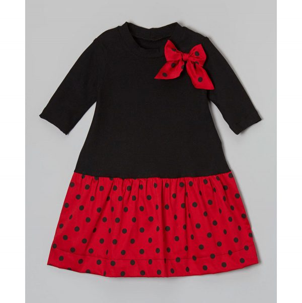 Polka dot Bow - Holiday Dress